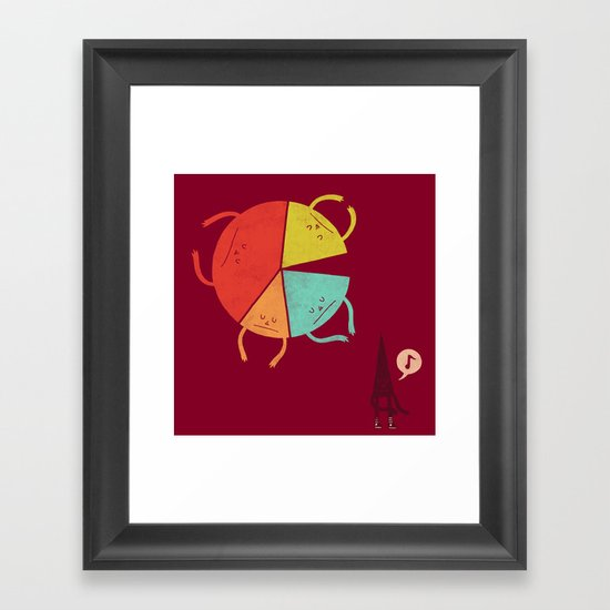 Don't be a Statistic Framed Art Print