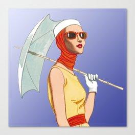 My Umbrella Canvas Print