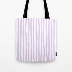 Lavender Stripes Tote Bag