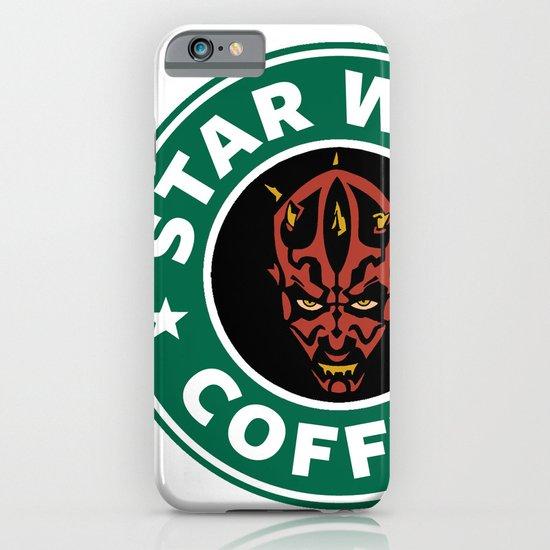 Star Wars Coffee (Darth Maul) iPhone & iPod Case