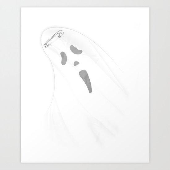I Caught A Ghost. Art Print