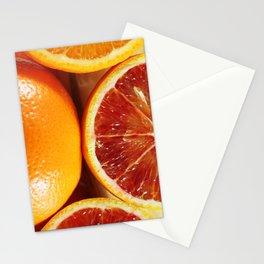 Orange 3 Stationery Cards