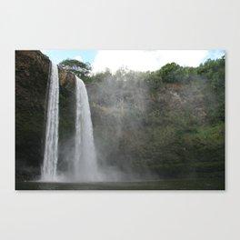 Flow Basis Canvas Print
