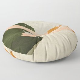 Between the Leaves Floor Pillow