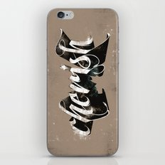 Cherish iPhone & iPod Skin