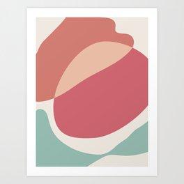Sweet Abstract Art Print