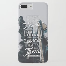 Sherlock - Angels iPhone Case
