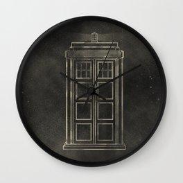 Doctor Who: Tardis Wall Clock