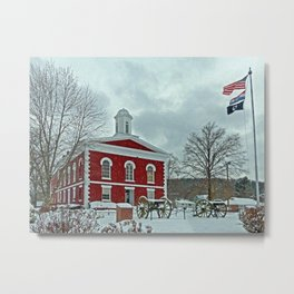 Iron County Courthouse Metal Print