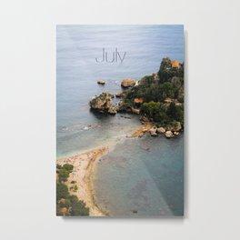 Isola Bella Metal Print