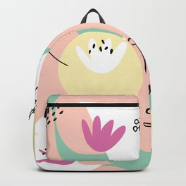 Pop of Color and Doodles Backpack