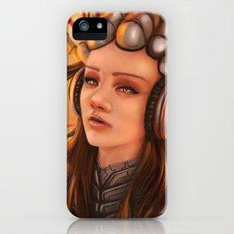 Cybernetic Girl iPhone Case