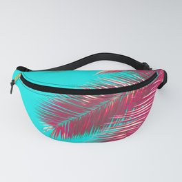 Neon Palm Fanny Pack