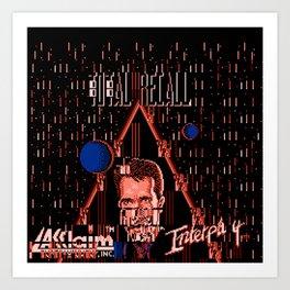 Total ReGlitch Art Print