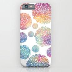 Watercolor Flowers Slim Case iPhone 6