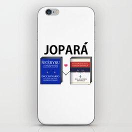 Jopara Love iPhone Skin