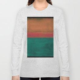 Rothko Inspired #4 Long Sleeve T-shirt