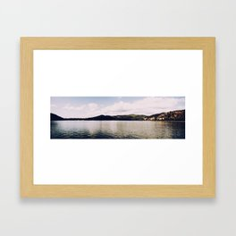 A Panorama - The River  Framed Art Print