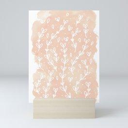 Blush Vines Mini Art Print
