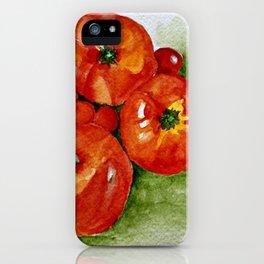Garden Tomatoes iPhone Case