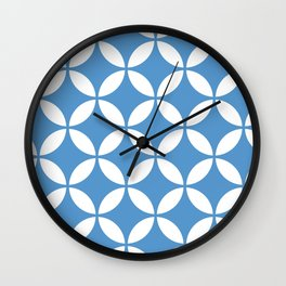 Palm Springs Screen: Turquoise Wall Clock