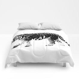 Tiger Prowl Comforters