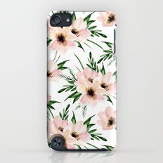 Pink bouquet. Watercolor Slim Case iPod touch