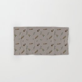 Smoky cigar pattern Hand & Bath Towel