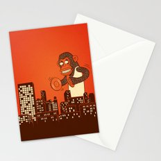 monkey on your back Stationery Cards