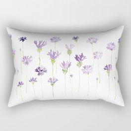 Blue cornflowers (flowers) Rectangular Pillow