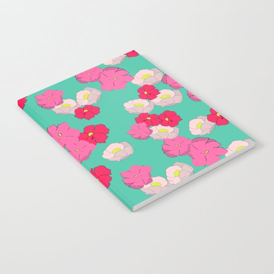 Blooming graphic Notebook
