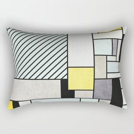 Colorful random pattern Rectangular Pillow