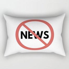 Toxic News Rectangular Pillow