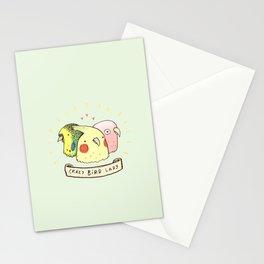 Crazy Bird Lady Stationery Cards