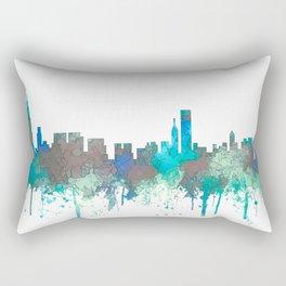 Chicago, Illinois Skyline - SG Jungle Rectangular Pillow