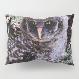 Real Owl Pillow Sham