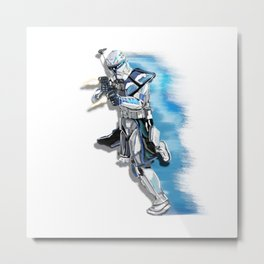 Rex beast mode Metal Print