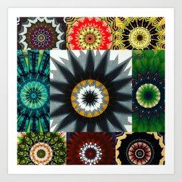 Kaleidoscope Photo Art Art Print