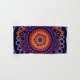 Colourful Mandala of Life Hand & Bath Towel