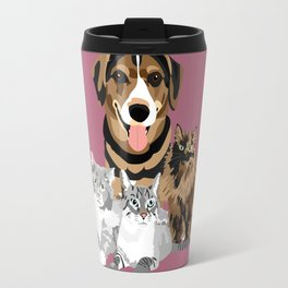 Alfred and Cats Travel Mug