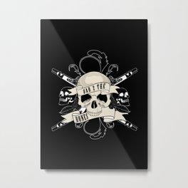 Bad 2 The Bones Metal Print