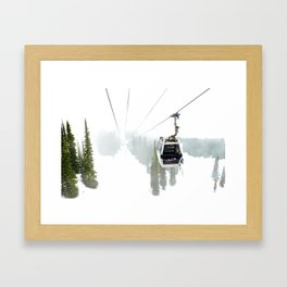 Whistler Blackcomb Framed Art Print