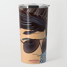 Pop Art Falco Travel Mug