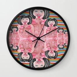 Lick The Lumps Wall Clock
