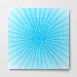 Rays Of Light Metal Print