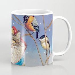 Winter fishing Coffee Mug