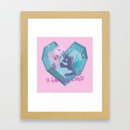 It Takes All Kinds! Flurry Heart and Thorax Framed Art Print