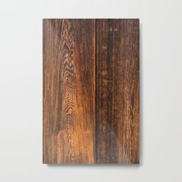 Old wood texture Metal Print