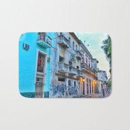 Havana Streets 2 Bath Mat