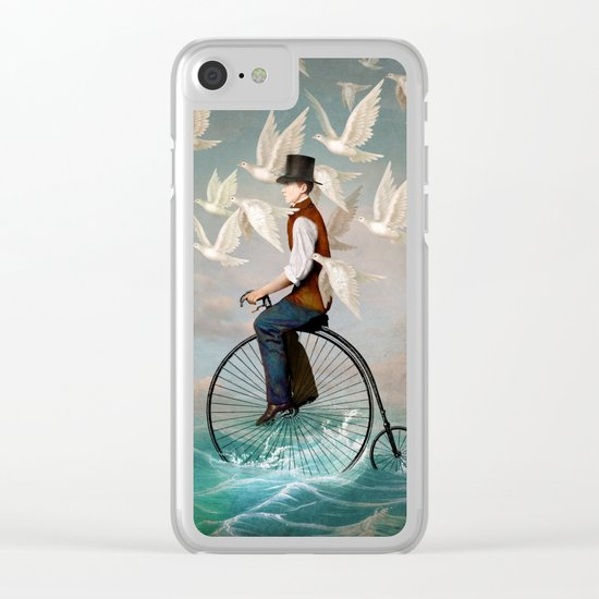 Ocean Ride Clear iPhone Case